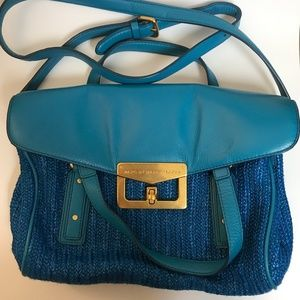 Marc By Marc Jacobs Raffia & Leather Bag